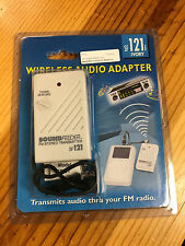 SF121i Sound Feeder FM Transmitter 3.5mm Headphone Jack w/ Right Angle 3.5 Cable