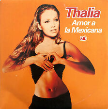 Thalia CD Single Amor A La Mexicana - France (VG/EX+)