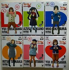 Banpresto@ K-ON!!Movie DX LONDON Figure6P Full Set =2Yui+Azusa+Mio+Ritsu+Tsumugi