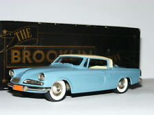 Brooklin BRK32a 1953 Studebaker Commander Starliner Coupe Blue/Cream 1/43