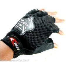 Half One Pair Black Bike Hand Grip Gloves for Motorcycle Scooty biker gift