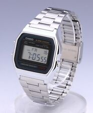 Casio Watch * A158WA-1 Vintage Silver Stainless Steel Ivanandsophia COD PayPal