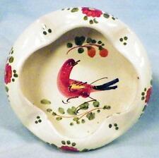 Guerrieri Murano Ashtray Art Pottery Adriatica Navigazione Italian Vintage