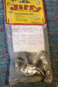 Vintage Jiffy Feldmann Ice Fishing Auger Drill connection Kit For models 30 & 70