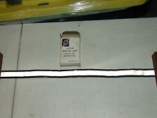 Nos Vintage Arctic Cat Snowmobile Rear Bumper Reflective Strip Decal