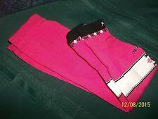 1 pr Pink cycliste femme Pearl Seamless Arm Warmers w/slight Mfg mark New Sz lge