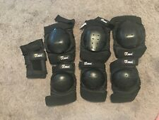 RANDOM LOT OF 7 PIECES OF JBM BMX Bike Knee Elbow Pads Protective Gear