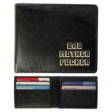 Slimline Real Leather Wallet - Bad Mother F'er Pulp Fiction Design