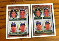 1993 Topps and Topps Gold #529 CHIPPER JONES Top Prospects Card - BRAVES