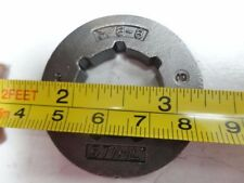 "OEM Stihl 3/8-8 0000-642-1216 Clutch Drum Rim Sprocket 3/8x8 SD7 7/8"" Bore"