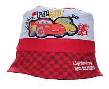 Disney Cars Lightning McQueen Baby Boy Girl Sun Hat Cap Bucket Hat Red 50 Cm