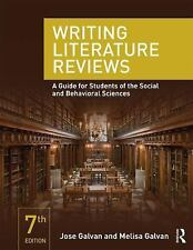 Writing Literature Reviews : A Guide for Students of the Social and Behavioral S
