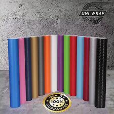 3d Vinilo fibra carbono burbuja sin aire negro y Todos Colores Uv protegido