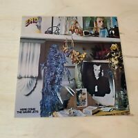 """BRIAN ENO """"HERE COME THE WARM JETS"""" LP 1ST PRESSING 1-A/1-B 1982 ART ROCK NM/NM"""