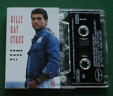 Billy Ray Cyrus Some Gave All inc Achy Breaky Heart + Cassette Tape - TESTED