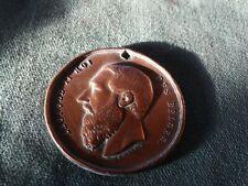 ancienne médaille -jeton - roi leopold 2