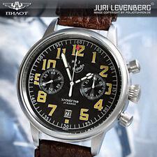 Kirova Poljot 3133 Russian Mechanical Aviator Pilot's Chronograph Watch