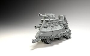 9th Age Impression 3D Empire of Sonnstahl Tank à vapeur 1