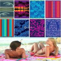 100% Egyptian Cotton JUMBO Velour Beach Towel 180 x 100cm Extra Large Jacquard