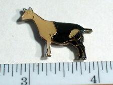 Vintage Alpine Goat Enamel Pin (sm)