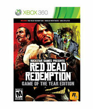 Red Dead Redemption -Game of the Year Edition (Microsoft Xbox 360, 2011)Complete