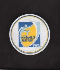 2014 FIFA WORLD CUP QUALIFIERS MY GAME IS FAIR PLAY SOCCER/FOOTBALL JERSEY PATCH