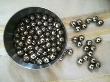 Pallini in acciaio inox 8/mm 500/pezzi per fionda