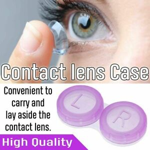 Style Travel  Storage Box Contact Lens Case Lenses Plastic Container Holder UK