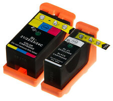 2 x Ink Cartridges Compatible For Dell 21 22 23 24 P513w P713w V313w V515w V715w
