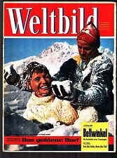 Weltbild Nr. 4 1.2.1959 Helga Martin, Ellmau, Sophia Loren