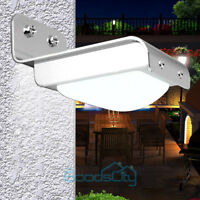 16 LED Solar Power Motion Sensor human body induction Lamp  Garden Waterproof