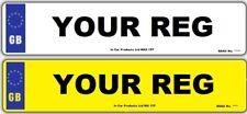 3D Font Front or Rear MOT UK Road Legal Car Van Reg Registration Number Plate