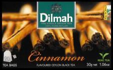 DILMAH Tee - Cinnamon Zimt Flavoured Black Ceylon Tea  20 Teebeutel