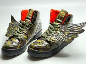 Adidas Jeremy Scott Wings 2.0 US Sneakers Camo JS Camoiflage Shoe G50726 size 11