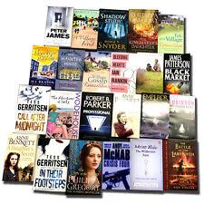 Joblot Wholesale of 50 New Fiction Books Collection Set Fiction, Crime, Teens