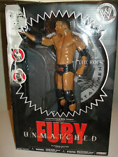 Wwe Unmatched Fury The Rock Figure