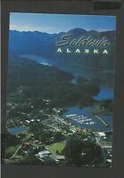 Colour Postcard Aerial View of Seldovia Alaska unposted