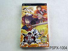 Tales of VS Versus PSP Japanese Import JP Japan Portable US Seller B