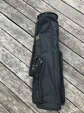 RARE MacKenzie Black 2-Way Sunday Carry Golf Bag Peter Jacobson Oregon