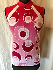 0ca61d5b2 LG Louis Garneau Cycling Bike Jersey Pink   White Sleeveless Women s Large