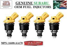 2005-2011 Subaru Legacy 2.5L H4 NEW 4unit Fuel Injectors OEM Subaru #16600-AA170