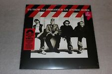 "U2 - How To Dismantle An Atomic Bomb - Red Vinyl  12""  - NEW SEALED"