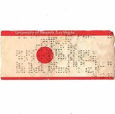 Grateful Dead & Steve Miller Band Concert Ticket Stub Las Vegas Nv 5/30/92 Rare