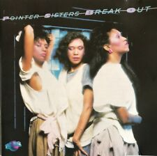 POINTER SISTERS BREAK OUT CD USA PLANET JAPAN 1983 PCD1-4705A SUPERB SHAPE