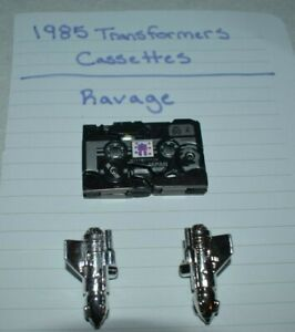 1985 TRANSFORMERS G1 MINI CASSETTE RAVAGE PANTHER