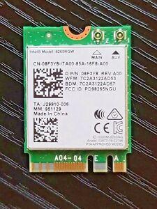 Dell 8265NGW Dual Band 802.11ac 867Mbps WiFi BlueTooth 4.2 Card 8F3Y8 08F3Y8