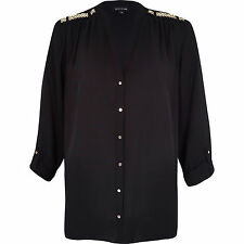 River Island Women's Party Classic Hip Length Tops & Shirts