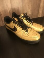 Nike Gold Nike Air Force 1 Athletic Shoes for Men for sale