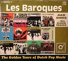 Les Baroques-The Golden Years A&B sides + all album tracks 2 cds Dutch psych