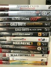PlayStation 3 Games - Pick & Choose - (PS3) Very good condition original boxes